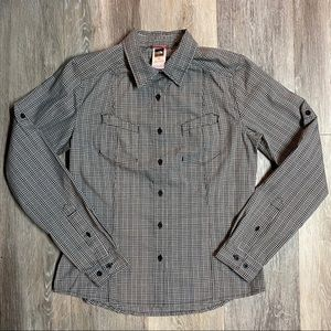 The North Face Plaid Long Sleeve Shirt